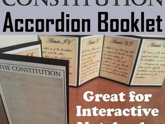 Constitution Accordion Booklet