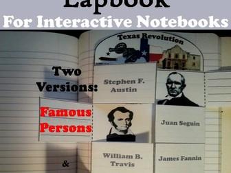 Texas Revolution Lapbook
