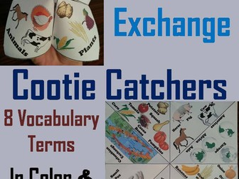 Columbian Exchange Cootie Catchers
