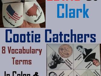 Lewis and Clark Cootie Catchers