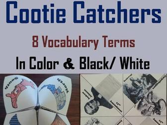 Reconstruction Cootie Catchers