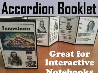 Jamestown Accordion Booklet