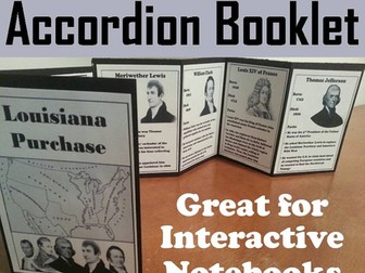 Louisiana Purchase Accordion Booklet
