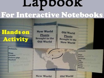 Columbian Exchange Lapbook