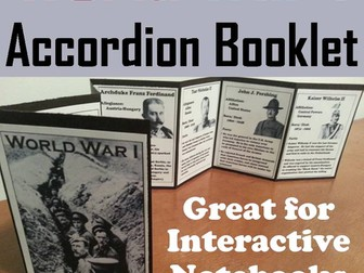 World War I Accordion Booklet