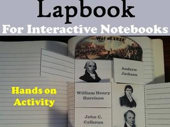 War of 1812 Lapbook