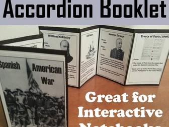 Spanish American War Accordion Booklet