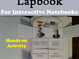 Spanish American War Lapbook