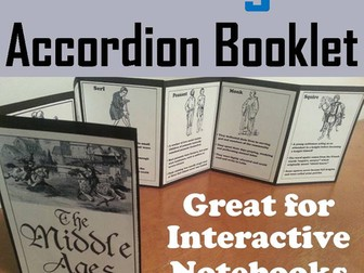 Middle Ages Accordion Booklet