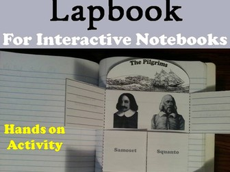 Pilgrims Lapbook