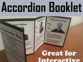 Progressive Era Accordion Booklet