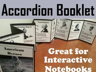 American Heroes Accordion Booklet