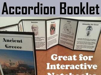 Ancient Greece Accordion Booklet