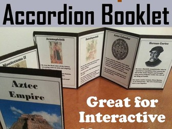 Aztec Empire Accordion Booklet