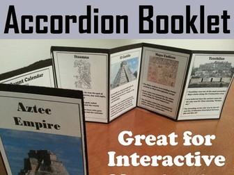 Maya Civilization Accordion Booklet