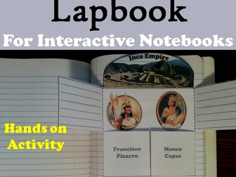 Inca Empire Lapbook