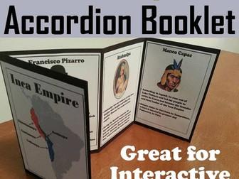 Inca Empire Accordion Booklet