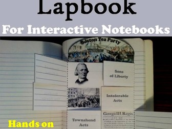 Boston Tea Party Lapbook