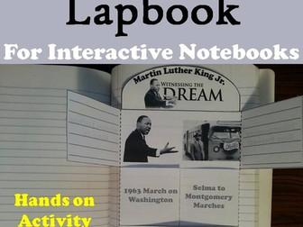 Martin Luther King Lapbook