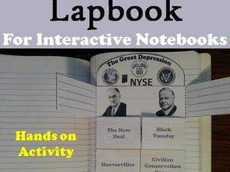 Great Depression Lapbook