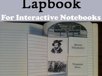 Lost Colony of Roanoke Lapbook