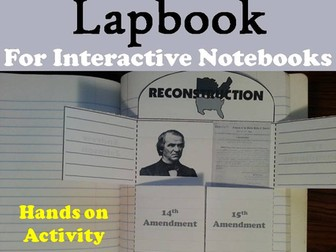 Reconstruction Lapbook