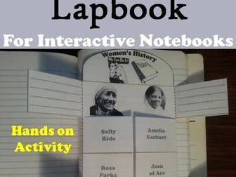 Women's History Lapbook