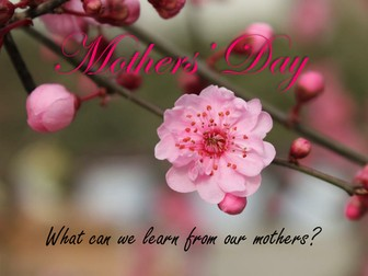 Mothers' Day Assembly Powerpoint (Christian)