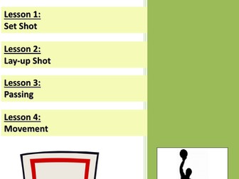 4 Basketball Lesson Plans