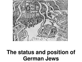 Anti-Semitism - The Nazi attack on the Jews 1918 to 1945