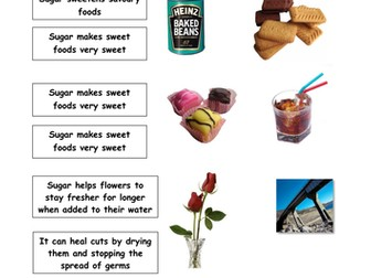 Science Sugar Project Lesson 1 of 4 - planning, Smart Notebook presentation, comprehensive resources