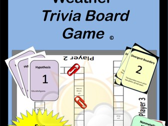 Atmosphere Trivia Board Game