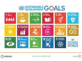 Global Goals - Symbols and targets
