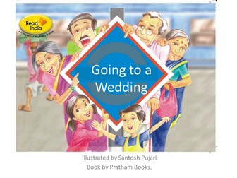 Wordless Stories Writing Pack - Going To An Indian Wedding