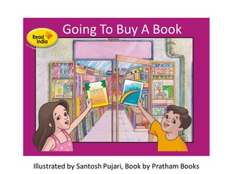 Wordless Stories - Going to buy a book
