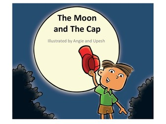 Wordless Stories Writing Pack - The moon and the cap