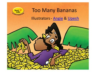 Wordless Stories - Too Many Bananas - a lovely story from India.