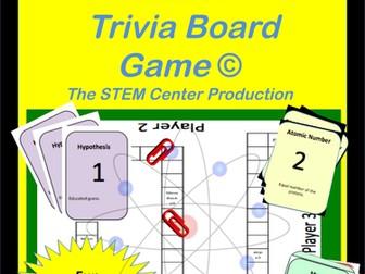 Matter Trivia Board Game