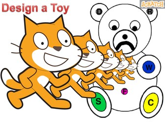 SCRATCH V - Design a toy