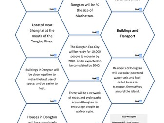 Dongtan Eco City - Sustainability in China