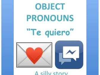 Spanish reading: Direct Object Pronouns