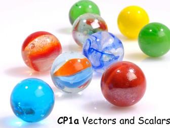 Edexcel CP1a Vectors and Scalars