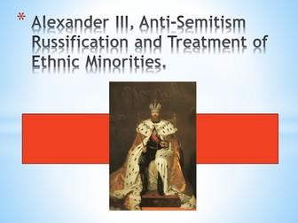 Alexander III (Tsarist Russia 1855-1917)