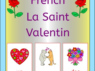 French Valentine's day - La Saint Valentin