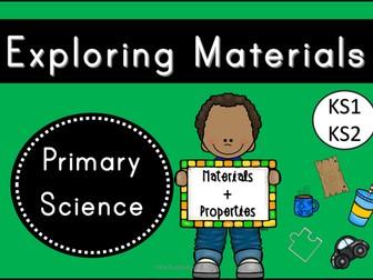 Exploring Materials (KS1/KS2)