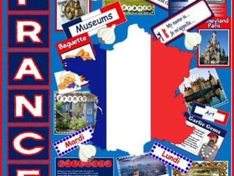 FRANCE and FRENCH LANGUAGE RESOURCES -MULTICULTURAL DIVERSITY TEACHING GEOGRAPHY FOOD ANIMALS