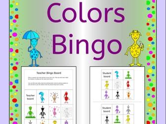 Bingo - Colors