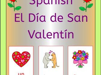 Spanish Valentine's Day - El Dia de San Valentin