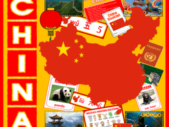 CHINA CHINESE LANGUAGE MULTICULTURE AND DIVERSITY TEACHING RESOURCES DISPLAY