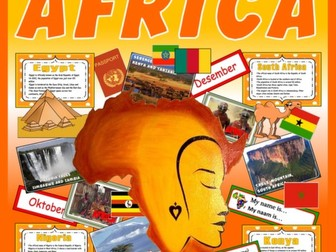 AFRICA -TEACHING RESOURCES CULTURE DIVERSITY LANGUAGE GEOGRAPHY EGYPT KENYA ETC
